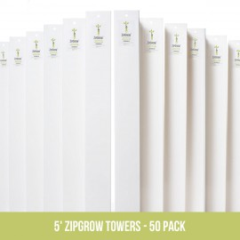 "Pack ""Fermier Vertical"" – 50 ZipGrow"