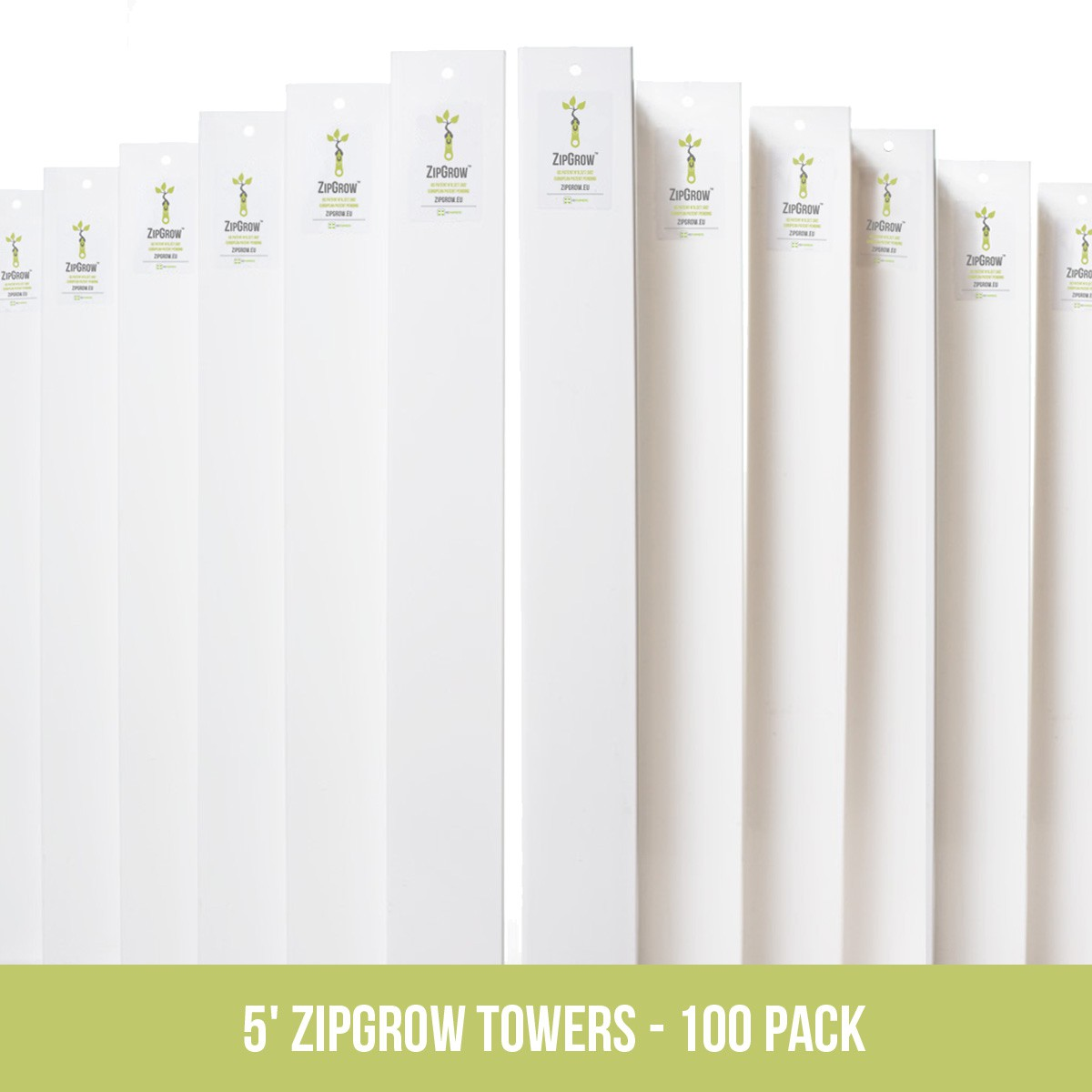 "Pack ""Fermier Vertical"" – 100 ZipGrow"